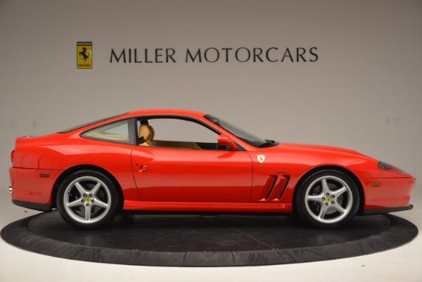 Used 2000 Ferrari 550 Maranello for sale Sold at Rolls-Royce Motor Cars Greenwich in Greenwich CT 06830 9