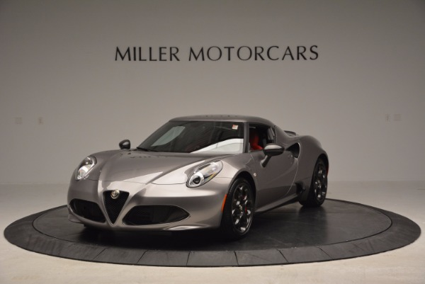 New 2016 Alfa Romeo 4C for sale Sold at Rolls-Royce Motor Cars Greenwich in Greenwich CT 06830 1