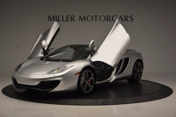 Used 2014 McLaren MP4-12C Spider for sale Sold at Rolls-Royce Motor Cars Greenwich in Greenwich CT 06830 14