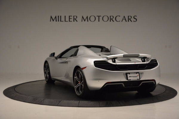 Used 2014 McLaren MP4-12C Spider for sale Sold at Rolls-Royce Motor Cars Greenwich in Greenwich CT 06830 5