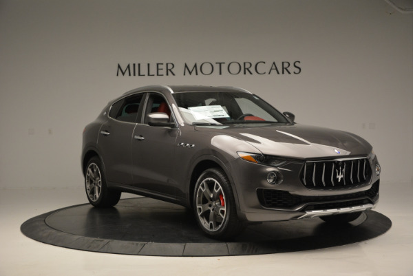 Used 2017 Maserati Levante Ex Service Loaner for sale Sold at Rolls-Royce Motor Cars Greenwich in Greenwich CT 06830 11