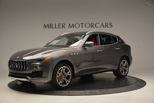 Used 2017 Maserati Levante Ex Service Loaner for sale Sold at Rolls-Royce Motor Cars Greenwich in Greenwich CT 06830 2