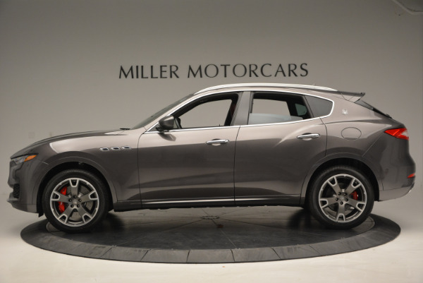 Used 2017 Maserati Levante Ex Service Loaner for sale Sold at Rolls-Royce Motor Cars Greenwich in Greenwich CT 06830 3