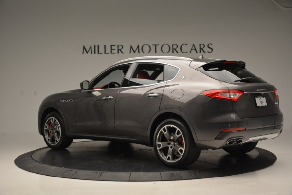 Used 2017 Maserati Levante Ex Service Loaner for sale Sold at Rolls-Royce Motor Cars Greenwich in Greenwich CT 06830 4