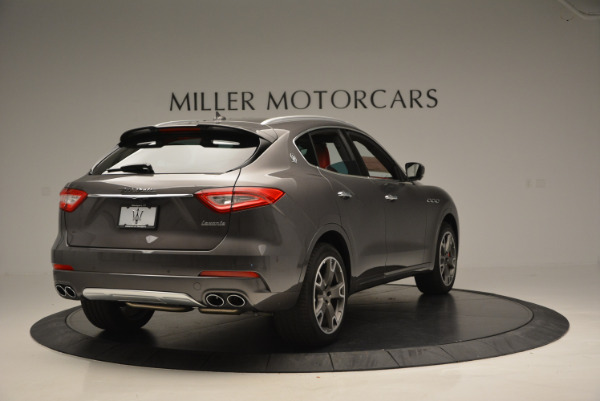 Used 2017 Maserati Levante Ex Service Loaner for sale Sold at Rolls-Royce Motor Cars Greenwich in Greenwich CT 06830 7