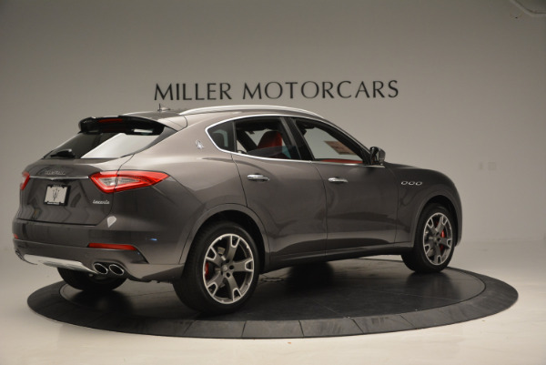 Used 2017 Maserati Levante Ex Service Loaner for sale Sold at Rolls-Royce Motor Cars Greenwich in Greenwich CT 06830 8