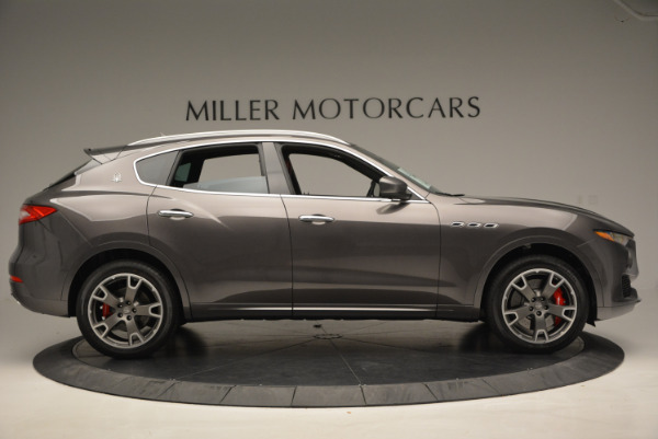 Used 2017 Maserati Levante Ex Service Loaner for sale Sold at Rolls-Royce Motor Cars Greenwich in Greenwich CT 06830 9