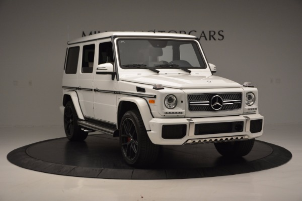 Used 2016 Mercedes Benz G-Class AMG G65 for sale Sold at Rolls-Royce Motor Cars Greenwich in Greenwich CT 06830 11