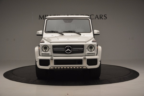 Used 2016 Mercedes Benz G-Class AMG G65 for sale Sold at Rolls-Royce Motor Cars Greenwich in Greenwich CT 06830 12