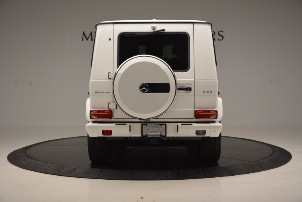 Used 2016 Mercedes Benz G-Class AMG G65 for sale Sold at Rolls-Royce Motor Cars Greenwich in Greenwich CT 06830 6
