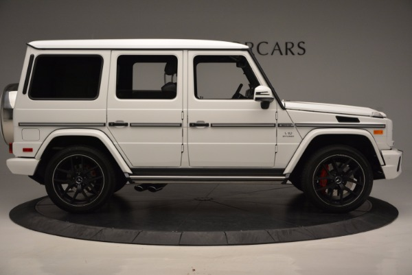 Used 2016 Mercedes Benz G-Class AMG G65 for sale Sold at Rolls-Royce Motor Cars Greenwich in Greenwich CT 06830 9
