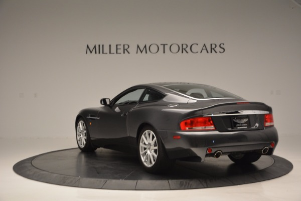 Used 2005 Aston Martin V12 Vanquish S for sale Sold at Rolls-Royce Motor Cars Greenwich in Greenwich CT 06830 5