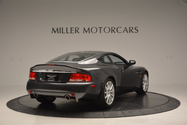 Used 2005 Aston Martin V12 Vanquish S for sale Sold at Rolls-Royce Motor Cars Greenwich in Greenwich CT 06830 7