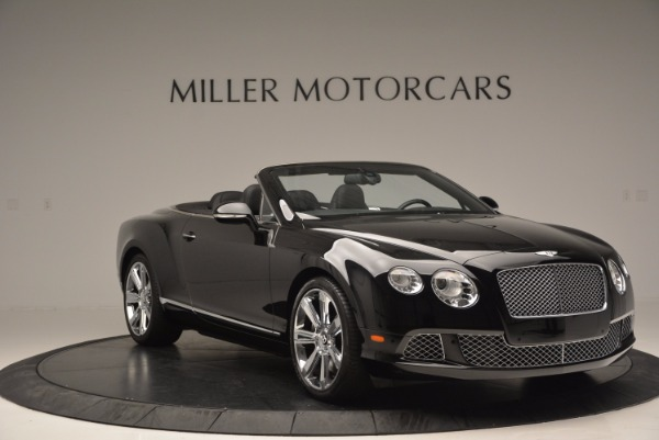Used 2013 Bentley Continental GTC for sale Sold at Rolls-Royce Motor Cars Greenwich in Greenwich CT 06830 12
