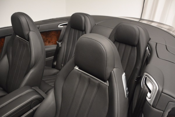 Used 2013 Bentley Continental GTC for sale Sold at Rolls-Royce Motor Cars Greenwich in Greenwich CT 06830 19