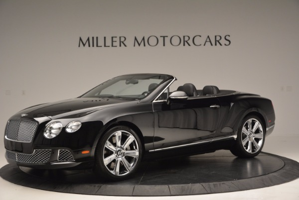 Used 2013 Bentley Continental GTC for sale Sold at Rolls-Royce Motor Cars Greenwich in Greenwich CT 06830 2
