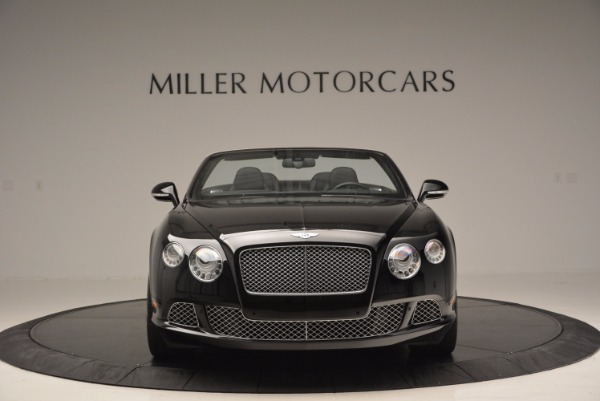 Used 2013 Bentley Continental GTC for sale Sold at Rolls-Royce Motor Cars Greenwich in Greenwich CT 06830 3