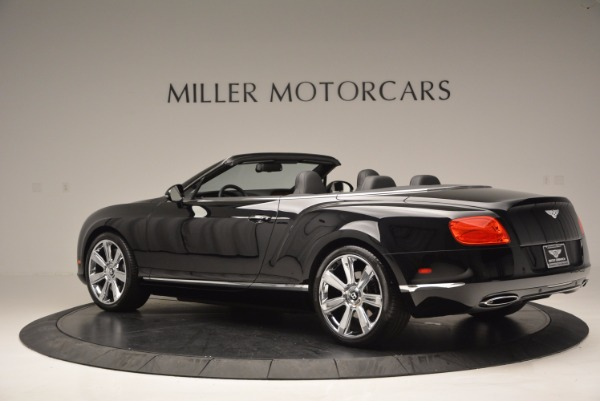 Used 2013 Bentley Continental GTC for sale Sold at Rolls-Royce Motor Cars Greenwich in Greenwich CT 06830 5