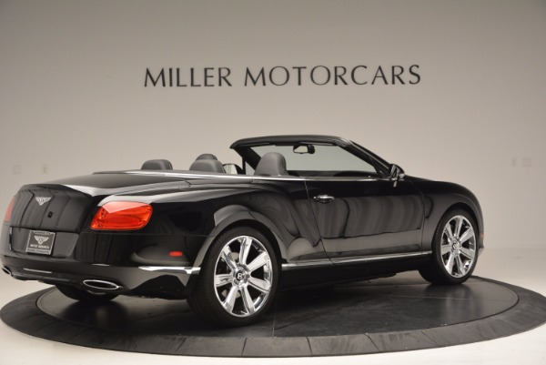 Used 2013 Bentley Continental GTC for sale Sold at Rolls-Royce Motor Cars Greenwich in Greenwich CT 06830 9