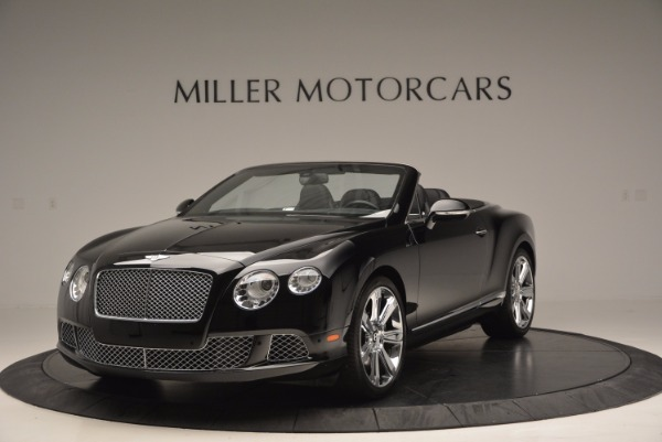 Used 2013 Bentley Continental GTC for sale Sold at Rolls-Royce Motor Cars Greenwich in Greenwich CT 06830 1