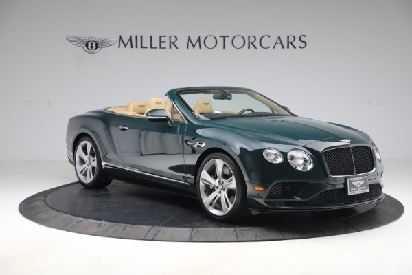 Used 2017 Bentley Continental GTC V8 S for sale $149,900 at Rolls-Royce Motor Cars Greenwich in Greenwich CT 06830 11