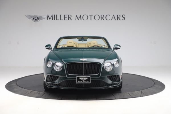 Used 2017 Bentley Continental GTC V8 S for sale $149,900 at Rolls-Royce Motor Cars Greenwich in Greenwich CT 06830 12