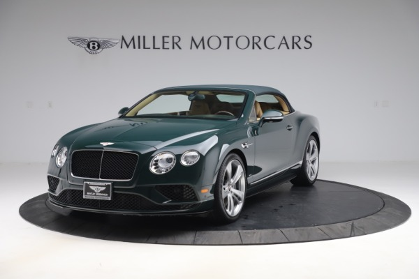 Used 2017 Bentley Continental GTC V8 S for sale $149,900 at Rolls-Royce Motor Cars Greenwich in Greenwich CT 06830 13