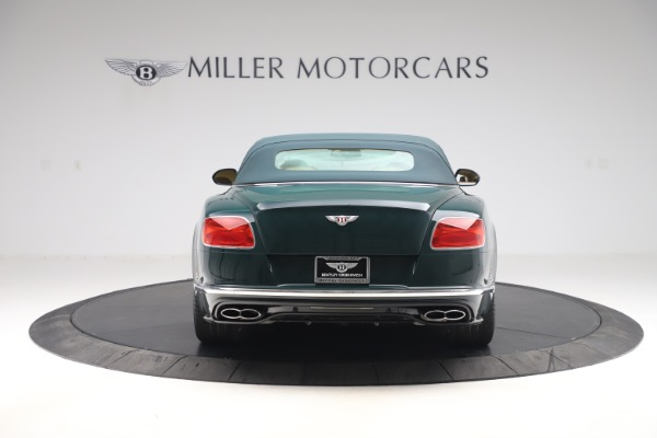 Used 2017 Bentley Continental GTC V8 S for sale $149,900 at Rolls-Royce Motor Cars Greenwich in Greenwich CT 06830 16