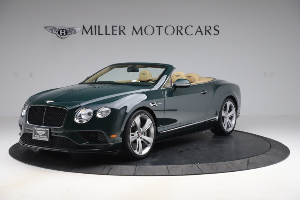 Used 2017 Bentley Continental GTC V8 S for sale $149,900 at Rolls-Royce Motor Cars Greenwich in Greenwich CT 06830 2
