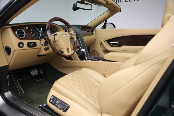 Used 2017 Bentley Continental GTC V8 S for sale $149,900 at Rolls-Royce Motor Cars Greenwich in Greenwich CT 06830 25