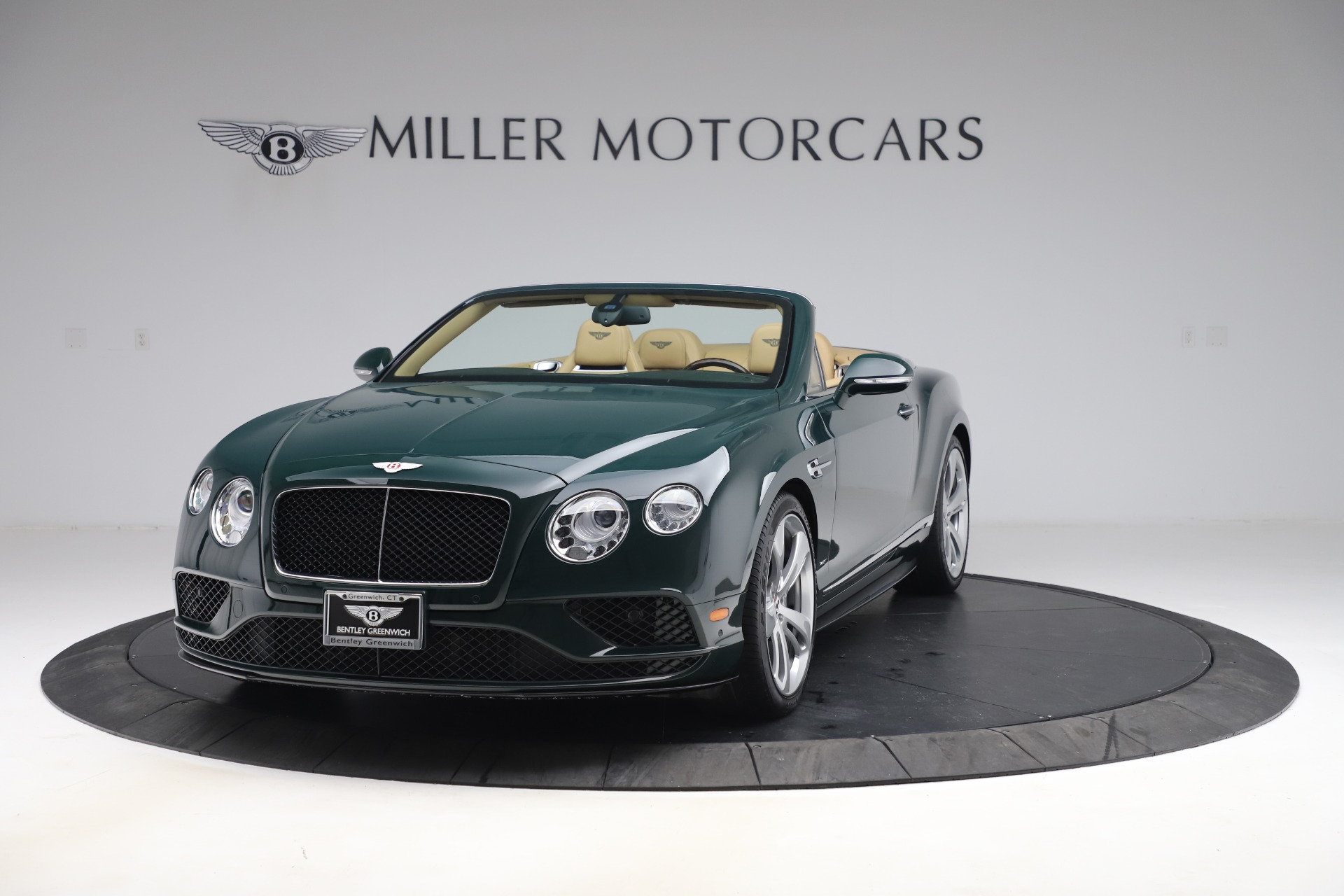 Used 2017 Bentley Continental GTC V8 S for sale $149,900 at Rolls-Royce Motor Cars Greenwich in Greenwich CT 06830 1