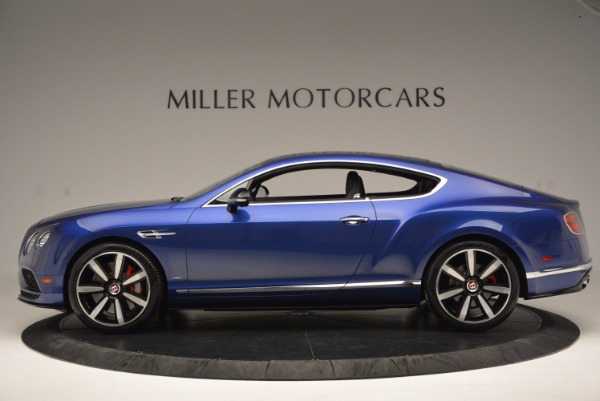 Used 2017 Bentley Continental GT V8 S for sale $146,900 at Rolls-Royce Motor Cars Greenwich in Greenwich CT 06830 3