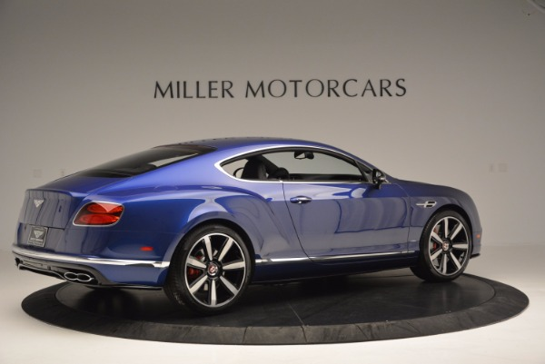 Used 2017 Bentley Continental GT V8 S for sale $146,900 at Rolls-Royce Motor Cars Greenwich in Greenwich CT 06830 8