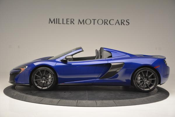 Used 2016 McLaren 650S Spider for sale Sold at Rolls-Royce Motor Cars Greenwich in Greenwich CT 06830 3
