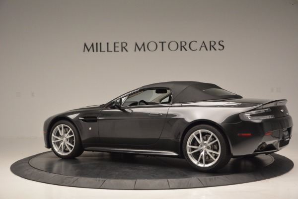 Used 2016 Aston Martin V8 Vantage S Roadster for sale Sold at Rolls-Royce Motor Cars Greenwich in Greenwich CT 06830 16
