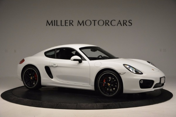 Used 2014 Porsche Cayman S for sale Sold at Rolls-Royce Motor Cars Greenwich in Greenwich CT 06830 10