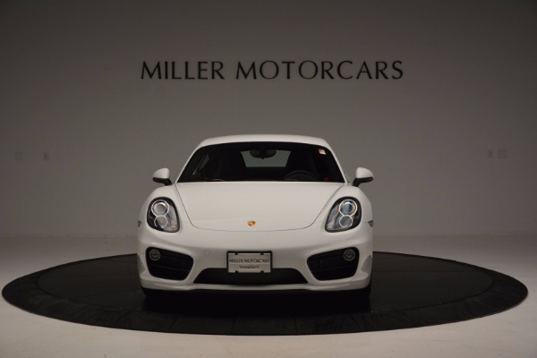 Used 2014 Porsche Cayman S for sale Sold at Rolls-Royce Motor Cars Greenwich in Greenwich CT 06830 12