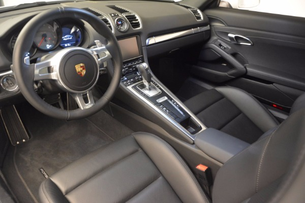 Used 2014 Porsche Cayman S for sale Sold at Rolls-Royce Motor Cars Greenwich in Greenwich CT 06830 13