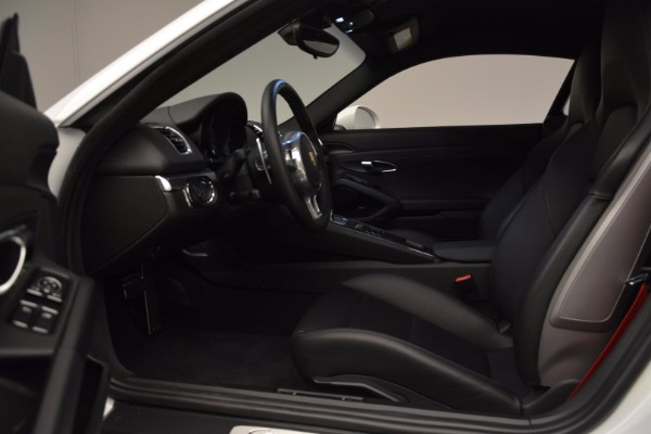 Used 2014 Porsche Cayman S for sale Sold at Rolls-Royce Motor Cars Greenwich in Greenwich CT 06830 14