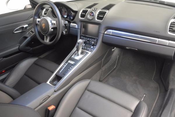 Used 2014 Porsche Cayman S for sale Sold at Rolls-Royce Motor Cars Greenwich in Greenwich CT 06830 16