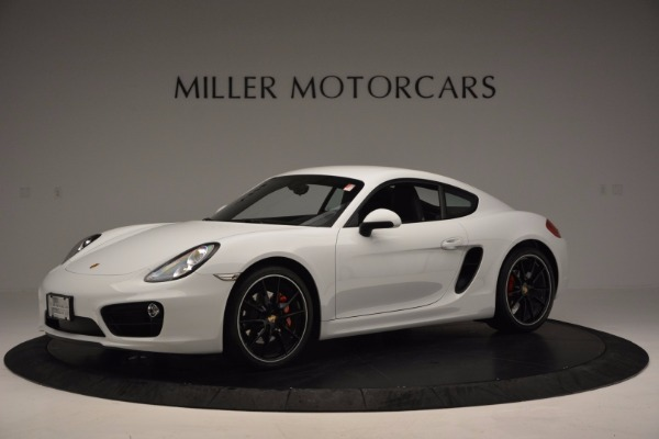 Used 2014 Porsche Cayman S for sale Sold at Rolls-Royce Motor Cars Greenwich in Greenwich CT 06830 2