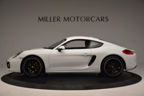 Used 2014 Porsche Cayman S for sale Sold at Rolls-Royce Motor Cars Greenwich in Greenwich CT 06830 3