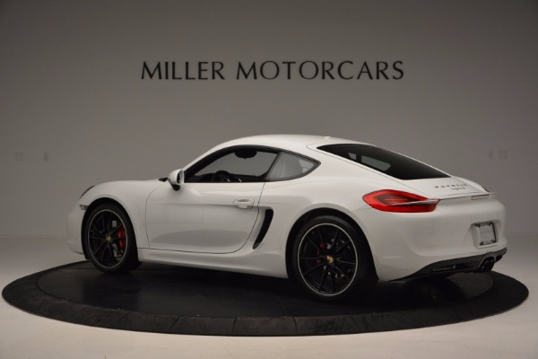 Used 2014 Porsche Cayman S for sale Sold at Rolls-Royce Motor Cars Greenwich in Greenwich CT 06830 4