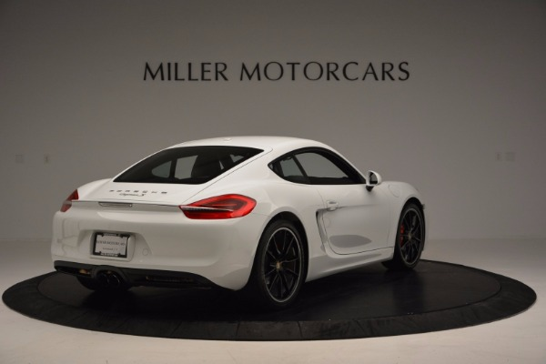 Used 2014 Porsche Cayman S for sale Sold at Rolls-Royce Motor Cars Greenwich in Greenwich CT 06830 7