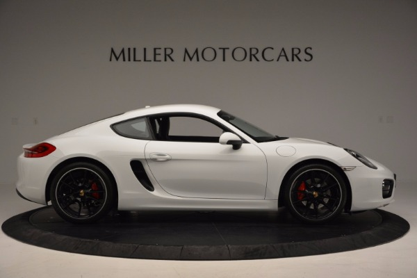 Used 2014 Porsche Cayman S for sale Sold at Rolls-Royce Motor Cars Greenwich in Greenwich CT 06830 9