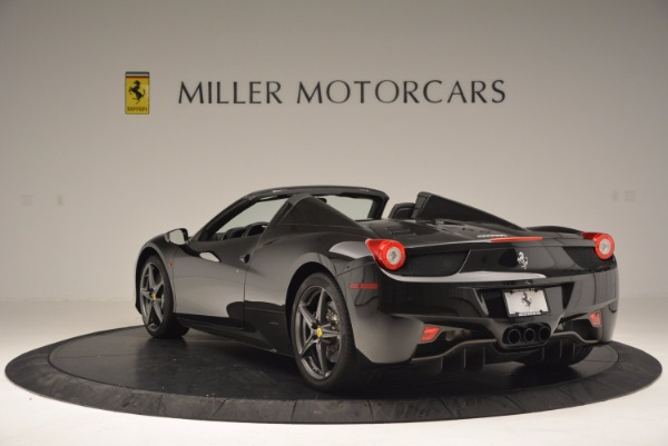 Used 2015 Ferrari 458 Spider for sale Sold at Rolls-Royce Motor Cars Greenwich in Greenwich CT 06830 5