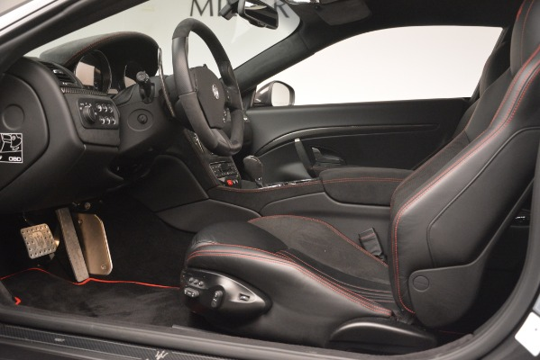 Used 2017 Maserati GranTurismo GT Sport Special Edition for sale Sold at Rolls-Royce Motor Cars Greenwich in Greenwich CT 06830 14