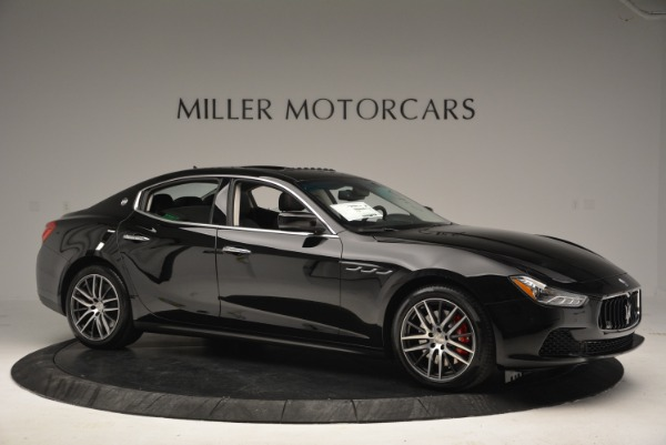 Used 2016 Maserati Ghibli S Q4  EX-LOANER for sale Sold at Rolls-Royce Motor Cars Greenwich in Greenwich CT 06830 10