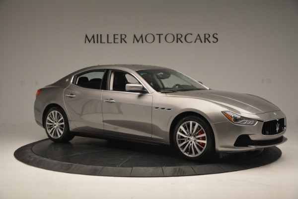Used 2016 Maserati Ghibli S Q4  EX- LOANER for sale Sold at Rolls-Royce Motor Cars Greenwich in Greenwich CT 06830 10