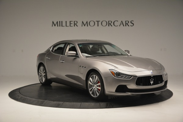 Used 2016 Maserati Ghibli S Q4  EX- LOANER for sale Sold at Rolls-Royce Motor Cars Greenwich in Greenwich CT 06830 11